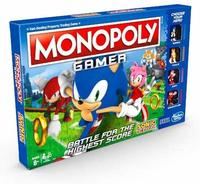 Monopoly - Gamer: Sonic The Hedgehog (Board Game) - Cover