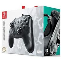 PDP - Face-off Deluxe Wired Controller + Audio - Camo Black (Nintendo Switch)