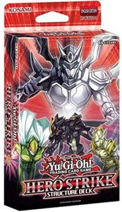 Yu-Gi-Oh! - Hero Strike Structure Deck (Trading Card Game) - Cover