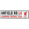 Liverpool - 3D Window Hanging Sign