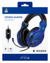 Bigben Interactive - Stereo Gaming Headset For PS4 - Blue