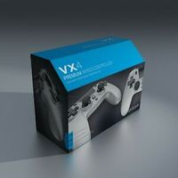 Gioteck - VX-4 Wired Controller - Titanium (PC/PS4)