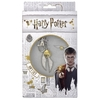 Harry Potter - Golden Snitch Keyring and Pin Badge Set