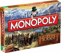 Monopoly - The Hobbit Edition (Board Game) - Cover