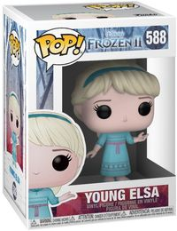 Funko Pop! Disney - Frozen II - Young Elsa Pop Vinyl Figure - Cover