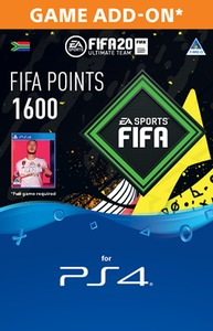 FIFA 20 Ultimate Team Digital - 1600 Points (PS4 Download) - Cover
