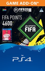FIFA 20 Ultimate Team Digital - 4600 Points (PS4 Download) - Cover