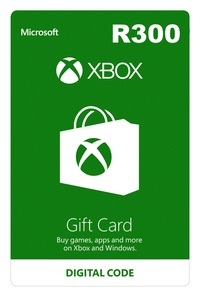 Xbox Live R300 Gift Card (Xbox One/Xbox 360/Win 10) - Cover