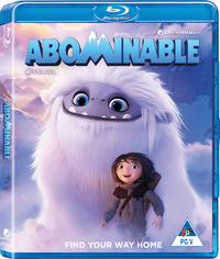 Abominable (Blu-ray) - Cover