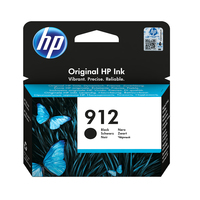HP - 912 Ink Cartridge - Black - Cover