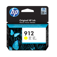 HP - 912 Ink Cartridge - Yellow - Cover