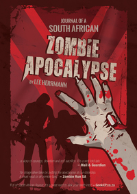 Journal of a South African Zombie Apocalypse - Lee Herrmann (Paperback) - Cover