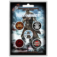 Amon Amarth Jomsviking Button Badge Pack