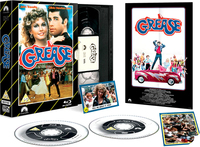 Grease - Limited Edition VHS Collection Packaging (DVD + Blu-ray) - Cover