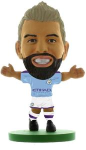 Soccerstarz - Manchester City Sergio Aguero - Home Kit (2020 version) Figure - Cover