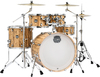 Mapex MA529SF-IW Mars Series 5pc Rock Shells Only Acoustic Drum Kit - Drifwood (10 12 16 14 22 Inch)