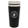 Aston Villa - Handless Aluminium Travel Mug (450ml)
