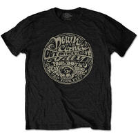 Creedence Clearwater Revival - Down On the Corner Men's T-Shirt - Black (Medium)