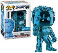 Funko Pop! - Marvel Avengers: Endgame - Hulk (Blue Chrome) Pop Vinyl Figure - Cover