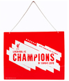 Liverpool FC - Champions of Europe 2019 Metal Sign