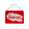 Liverpool FC - Champions of Europe 2019 Metal Window Sign
