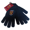 West Ham United F.C. - Core Knitted Gloves - Navy