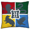 Harry Potter - Hogwarts Square Cushion