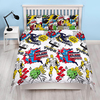 Marvel Comics - Scribble Reversible Duvet (Double)