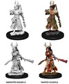 Dungeons & Dragons - Nolzur's Marvelous Unpainted Miniatures - Female Human Druid (Miniatures)