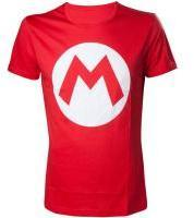 Nintendo - Super Mario Men's T-Shirt - Red (Medium) - Cover