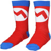 Super Mario - Mario Mark Socks - 43/46
