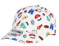 Nintendo - Character Accessories Curved Bill Kids Cap - Cover
