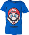 Nintendo - Super Mario Face Boy's T-Shirt (Size - 158/164)