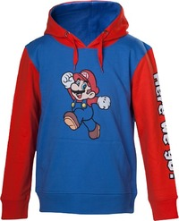 Nintendo - Mario Here We Go Kids Hoodie (Size - 98/104) - Cover