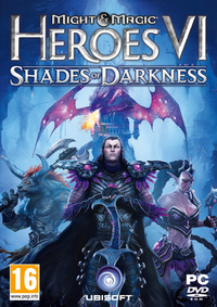 Might and Magic Heroes VI: Shades of Darkness - Compact Retail Pack (PC) - Cover