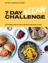 The 7 Day Vegan Challenge: Plant-Based Recipes for Every Day of the Week - Bettina Campolucci-Bordi (Hardcover)