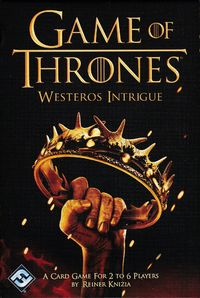 Game of Thrones - Westeros Intrigue (Card Game) - Cover