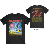 Iron Maiden - The Flight of Icarus Men's T-Shirt - Black (X-Large) - Cover