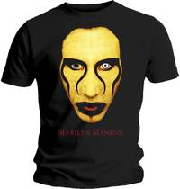 Marilyn Manson - Sex Is Dead Men's T-Shirt - Black (X-Large) - Cover
