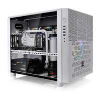 Thermaltake - Core X5 Tempered Glass Snow Edition Computer Case