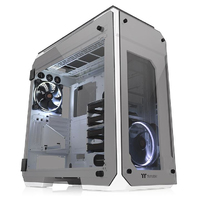 Thermaltake - View 71 Tempered Glass Snow Edition Full-Tower Computer Case