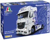 Italeri - 1/24 Mercedes Benz Actros Mp4 Giga Space Show Truck