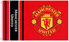 Manchester United - Wordmark Crest Flag