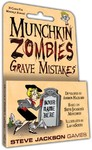 Munchkin Zombies - Grave Mistakes Expansion (Card Game)