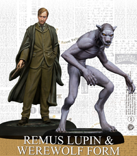 Harry Potter Miniatures Adventure Game - Remus Lupin & Werewolf Form (Miniatures) - Cover