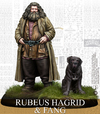 Harry Potter Miniatures Adventure Game - Rubeus Hagrid & Fang (Miniatures)
