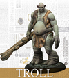 Harry Potter Miniatures Adventure Game - Troll Adventure Pack (Miniatures)