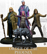Harry Potter Miniatures Adventure Game - Order of the Phoenix (Miniatures) - Cover