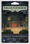 Arkham Horror: The Card Game - Murder at the Excelsior Hotel: Scenario Pack (Card Game)
