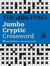Times Jumbo Cryptic Crossword Book 18 - The Times Mind Games (Paperback)